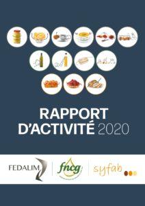 Rapport d'activité 2020 - FEDALIM FNCG SYFAB